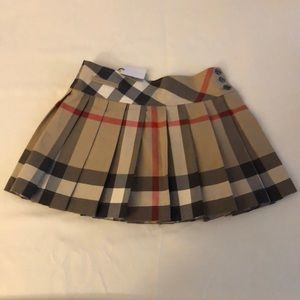 Classic Burberry Check Toddler Skirt